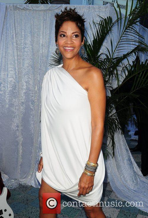 Arrives at Zo Summer Groove Benefit Dinner and...