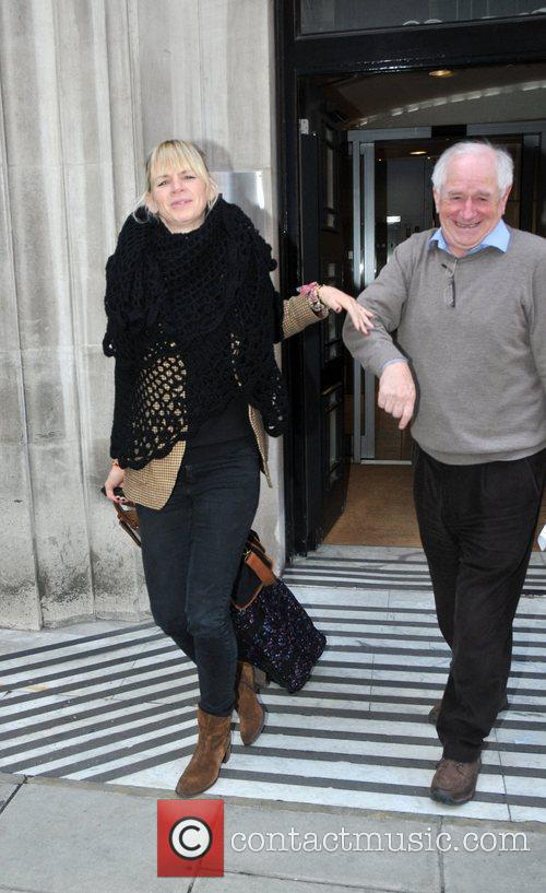 Zoe Ball and Johnny Ball  are seen...