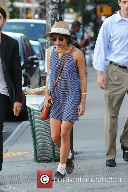 Zoe Kravitz  out and about in Manhattan...