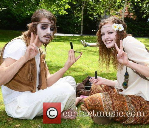 Dillard Taylor, Breelyn Burns Dublin Zombie Walk 2011...
