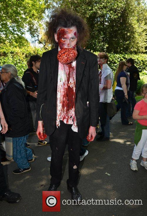 Seb Dooris Dublin Zombie Walk 2011 held at...