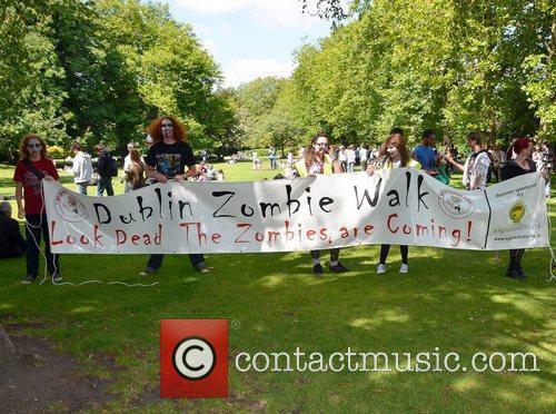 Zombie Walk Poster Dublin Zombie Walk 2011 held...