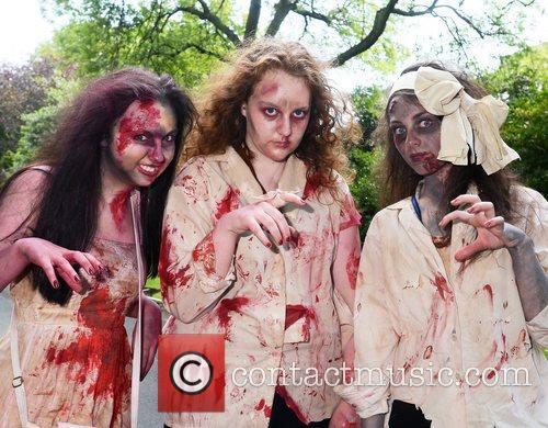 Megan Brien, Clodagh Sheridan, Georgia Hickey Dublin Zombie...