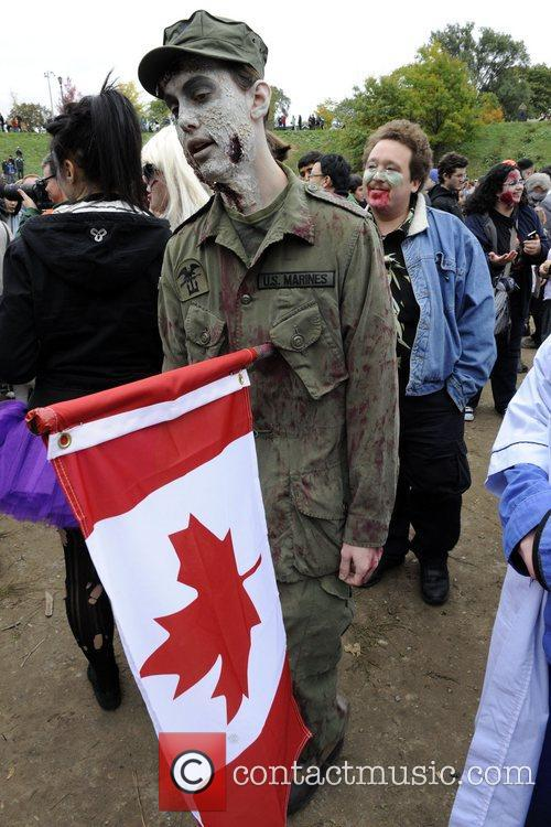 Atmosphere  9th Annual Toronto Zombie Walk at...