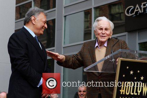 Zubin Mehta and Kirk Douglas Maestro Zubin Mehta...