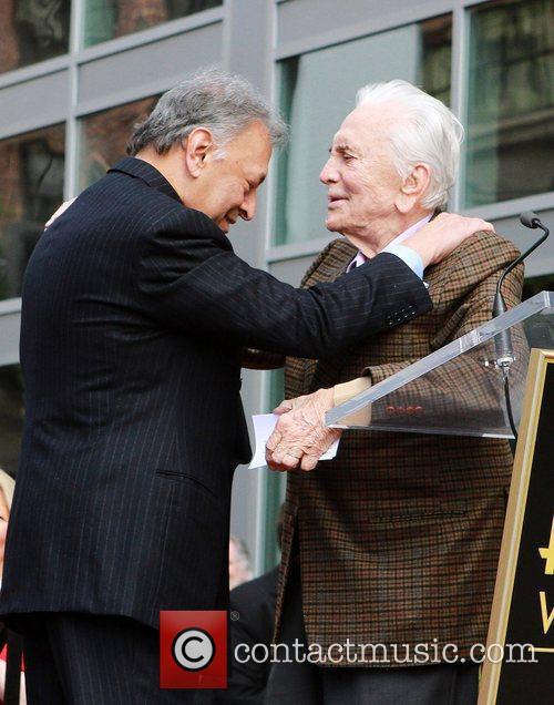 Maestro Zubin Mehta receives a star on the...