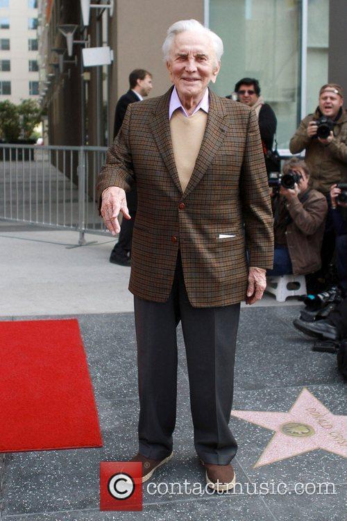Kirk Douglas Maestro Zubin Mehta receives a star...