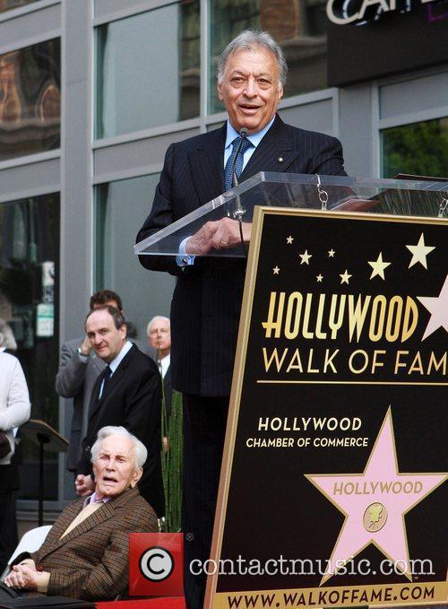 Maestro Zubin Mehta  receives a star on...