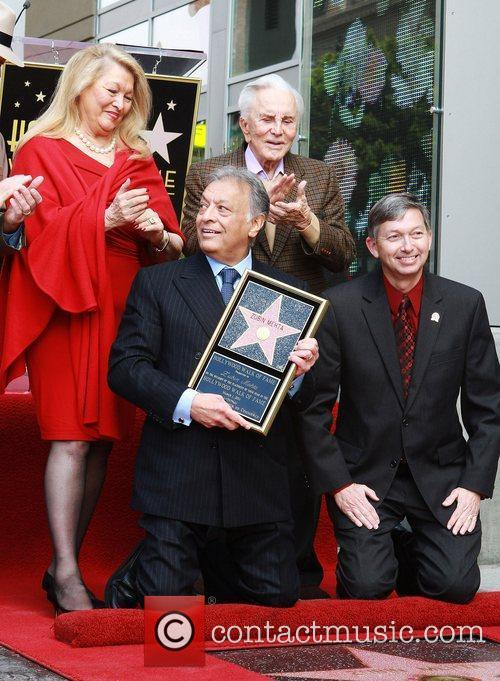 Nancy Kovack, Kirk Douglas, Star On The Hollywood Walk Of Fame and Walk Of Fame 3