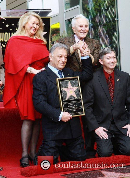 Nancy Kovack, Kirk Douglas, Star On The Hollywood Walk Of Fame and Walk Of Fame 2