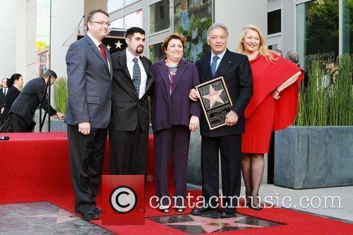 Zubin Mehta, Nancy Kocack and Family Maestro Zubin...