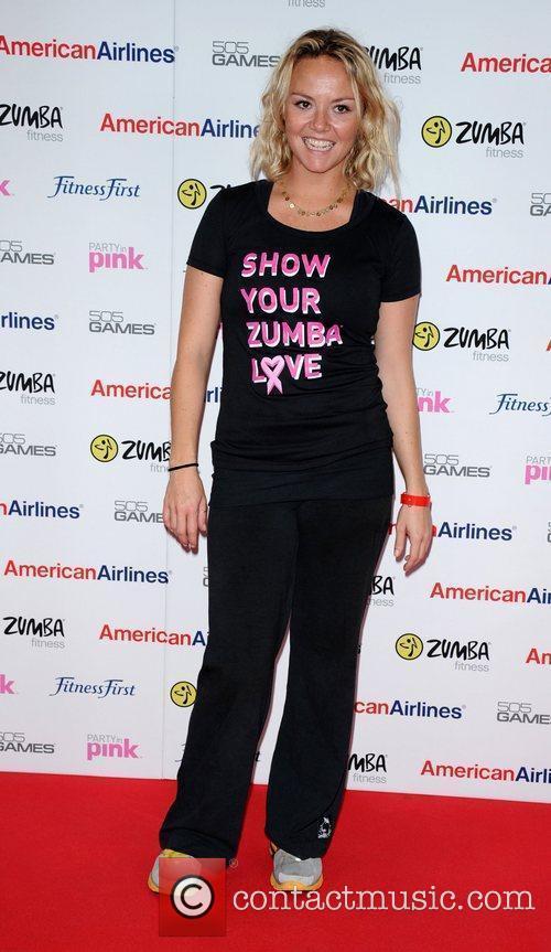 Zumbathon charity event, as part of Zumba Fitness...
