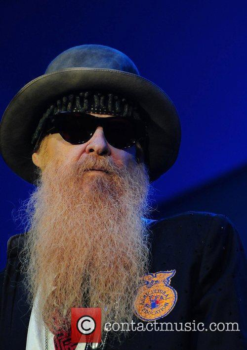 Billy Gibbons and Zz Top