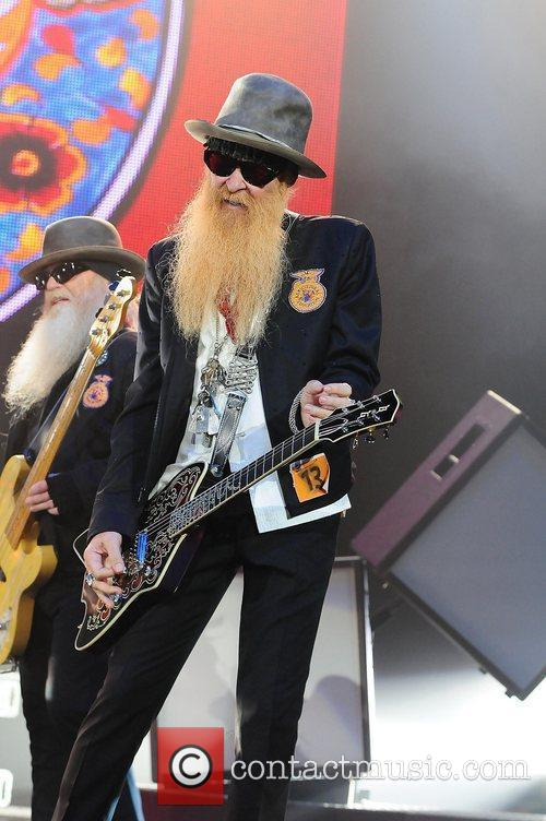 Billy Gibbons, Dusty Hill and Zz Top 2