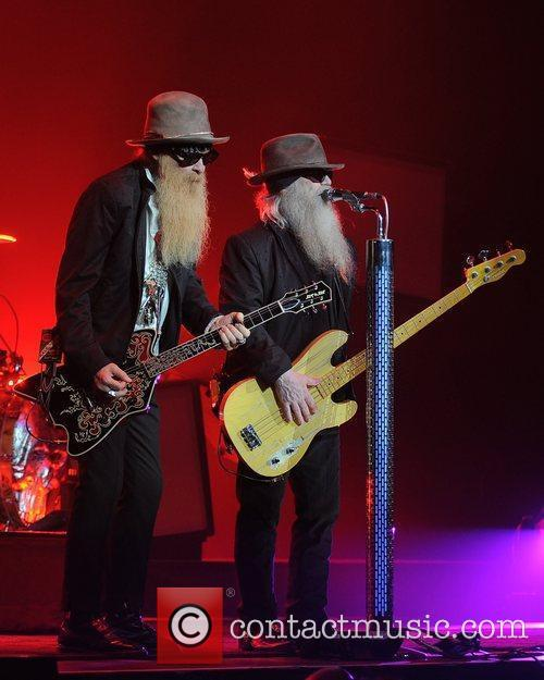 Billy Gibbons and Dusty Hill ZZ Top performing...