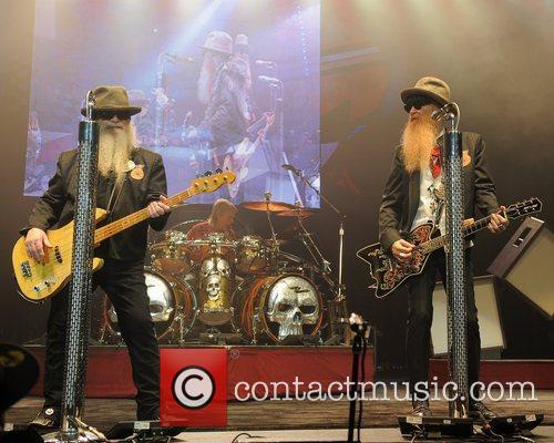 Billy Gibbons,Frank Beard and Dusty Hill ZZ Top...