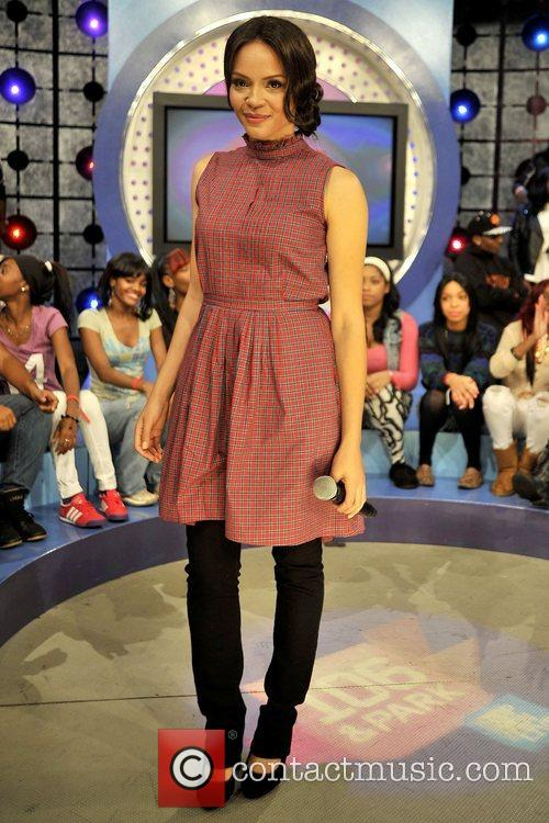 Carmen Ejogo  Celebrities appear on BET's '106...