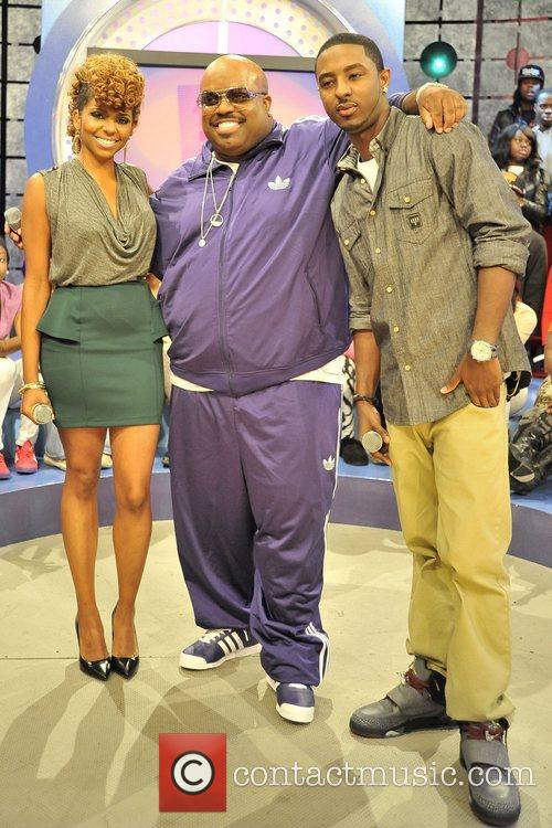 Cee Lo Green with hosts Shorty, Mykel 'Miss...