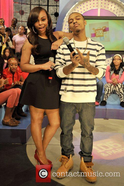 Hosts Bow Wow and Kimberly 'Paigion' Walker Celebrities...