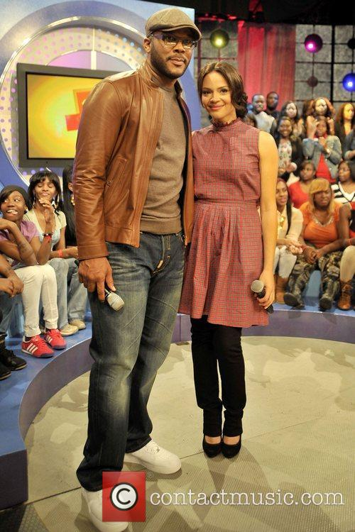Tyler Perry and Carmen Ejogo 6