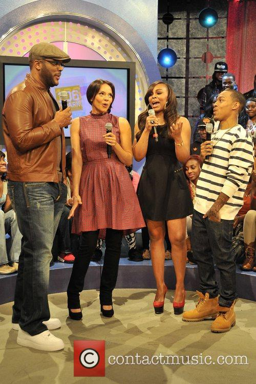 Tyler Perry, Carmen Ejogo, Bow Wow, Kimberly and Paigion' Walker 10