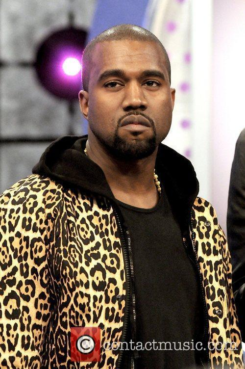 Kanye West appearing on BET's '106 and Park'....