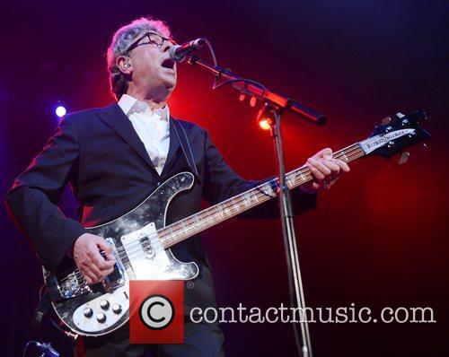 Graham Gouldman of 10cc performs on stage at...