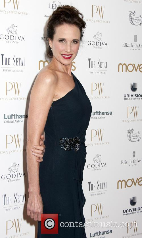 Moves Power Women Awards, Gala, Andie MacDowell