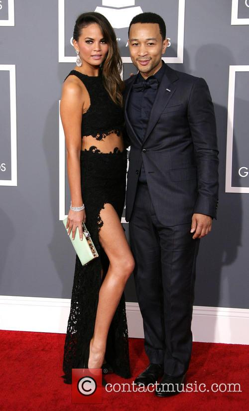 Chrissy Teigen, John Legend and Staples Center 2