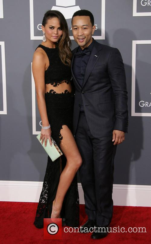 Chrissy Teigen, John Legend and Staples Center 3