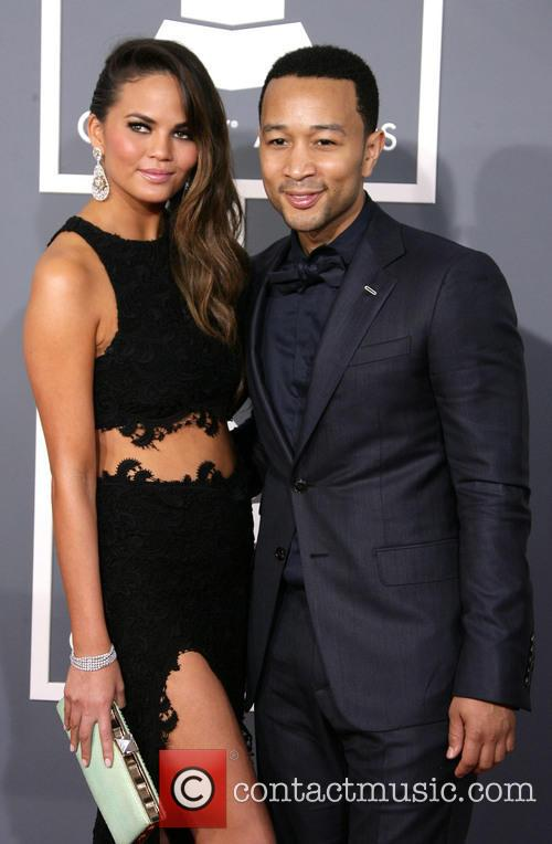 Chrissy Teigen, John Legend and Staples Center 1
