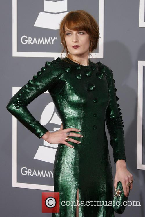 Florence Welch 55th Annual GRAMMY Awards held at...