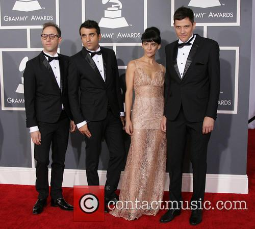 Musical group 'Campo' 55th Annual GRAMMY Awards held...