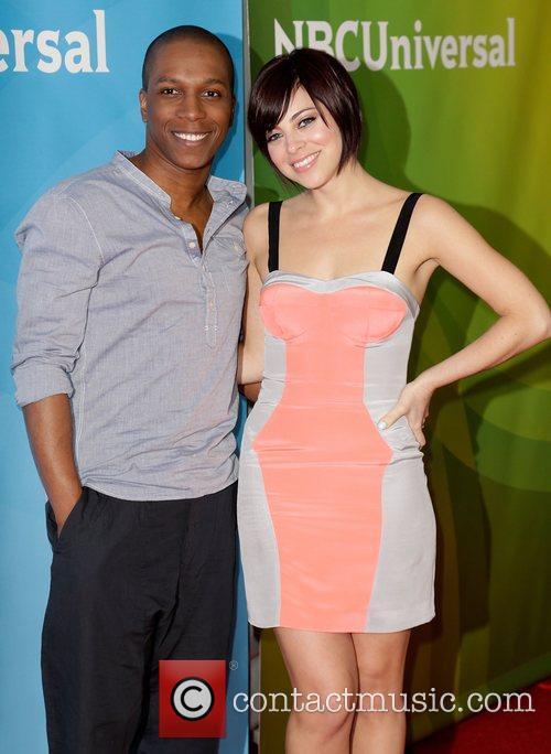 Leslie Odom Jr. and Krysta Rodriguez NBC Universal's...