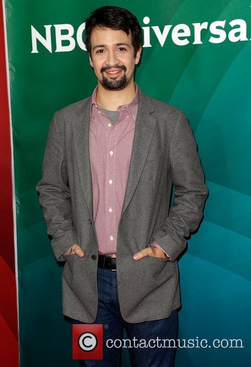 Lin-Manuel Miranda NBC Universal's '2013 Winter TCA Tour'...