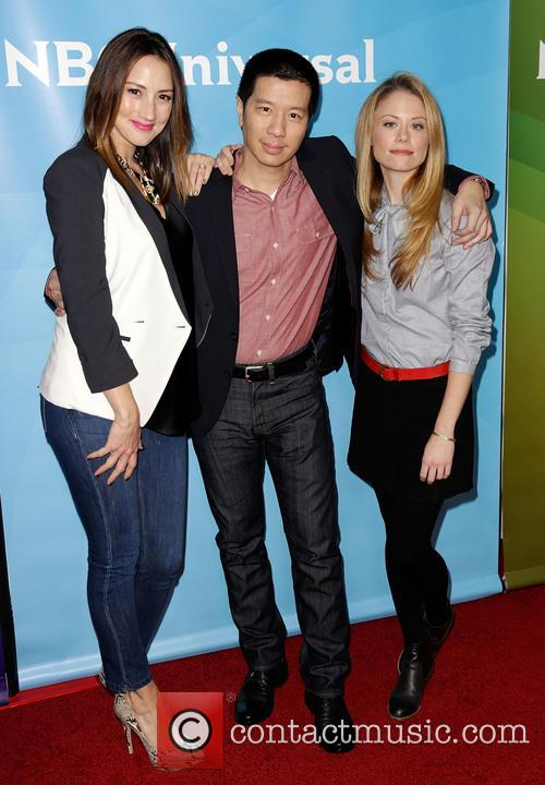 Bree Turner, Reggie Lee and Claire Coffee 3