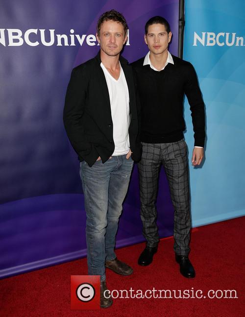 David Lyons; JD Pardo NBC Universal's '2013 Winter...