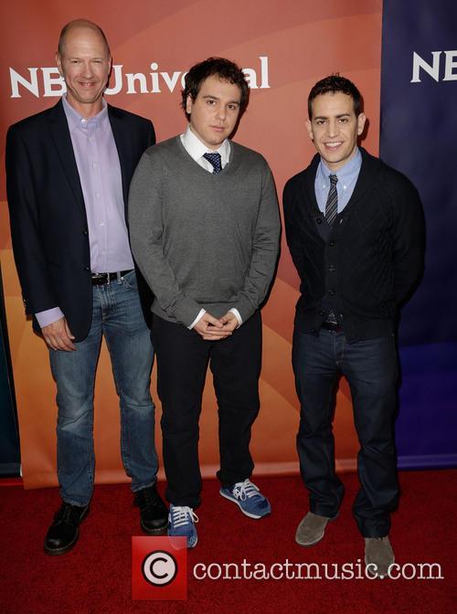 Mike Royce, Jon Lovett and Jason Winer 2