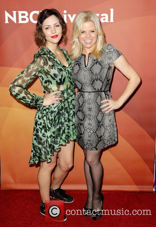 Katharine McPhee and Megan Hilty 9
