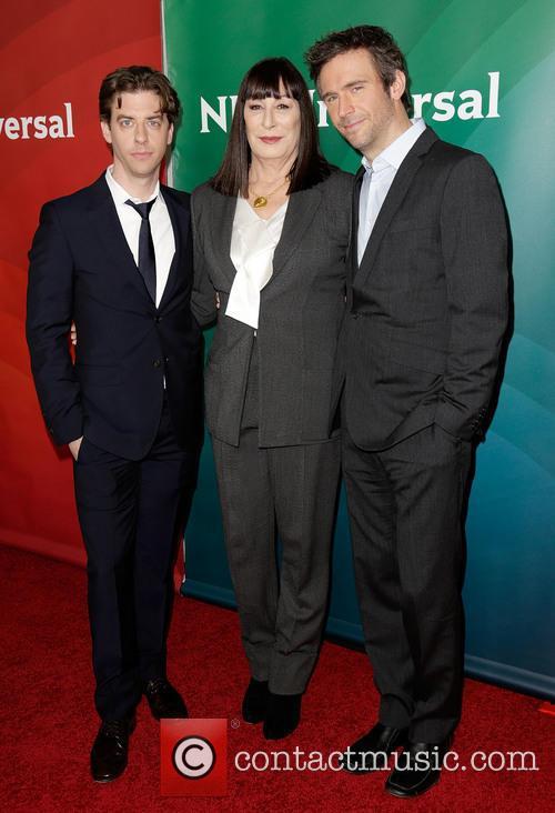 Christian Borle, Anjelica Huston and Jack Davenport 6