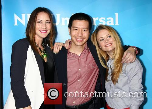 Bree Turner, Reggie Lee and Claire Coffee 5