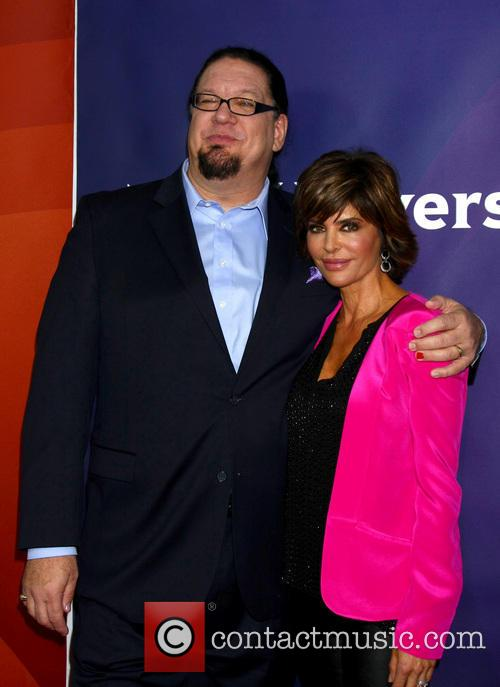 Penn Jillette; Lisa Rinna NBC Universal's '2013 Winter...