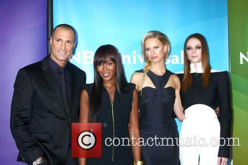 Nigel Barker; Naomi Campbell; Karolina Kurkova and Coco...