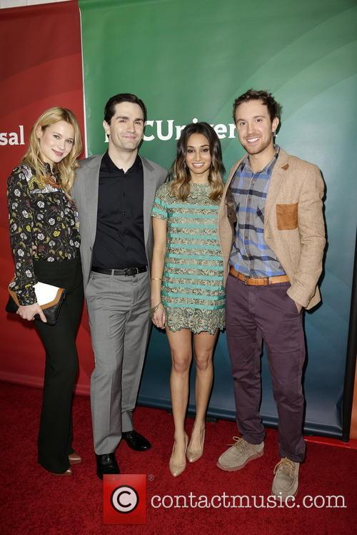 Kristen Hager, Sam Witwer, Meaghan Rath and Sam Huntington 3