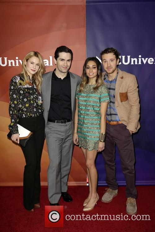 Kristen Hager, Sam Witwer, Meaghan Rath and Sam Huntington 10