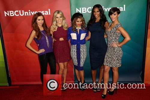 Una Healy, Mollie King, Vanessa White, Rochelle Humes and Frankie Sanford 3