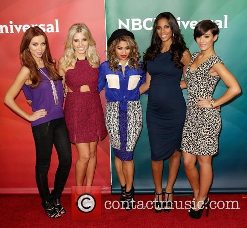 Una Healy, Mollie King, Vanessa White, Rochelle Humes and Frankie Sanford 7