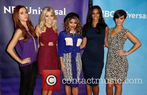 Una Healy, Mollie King, Vanessa White, Rochelle Humes and Frankie Sanford 5