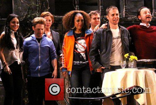 Vanessa Hudgens, Seth Green, Diane Neal, Tracie Thoms, Taran Killam, Sam Rockwell and Fisher Stevens 2