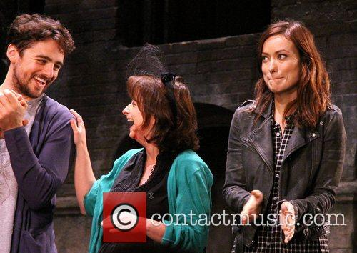 Vincent Piazza, Rachel Dratch and Olivia Wilde 6